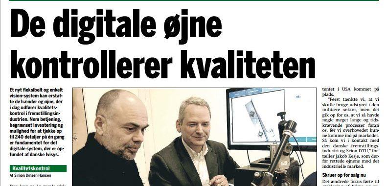 IVISYS featured in Danish industry media Jern og Maskinindustrien